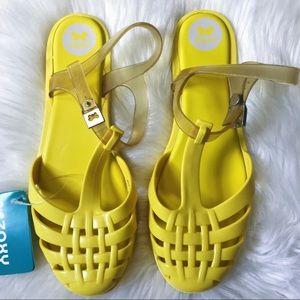 ZAXY   yellow spring sandals